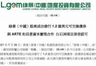 綠景(中國)股東成功發行1.2億美元可交換債券