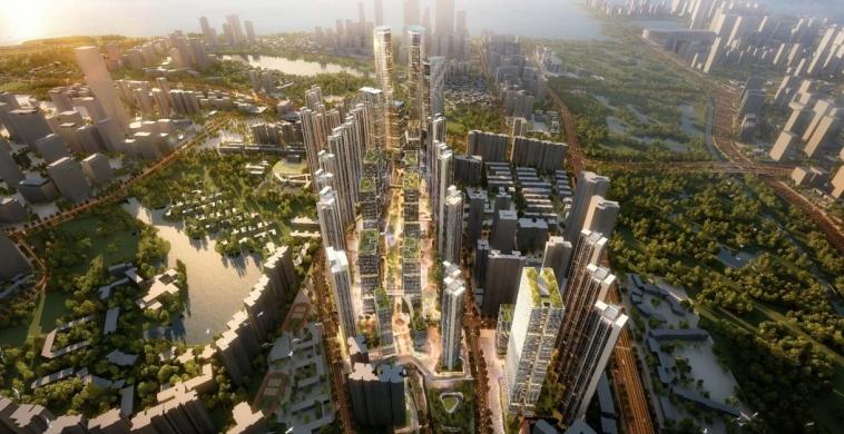 白石洲项目80%股权注入绿景中国