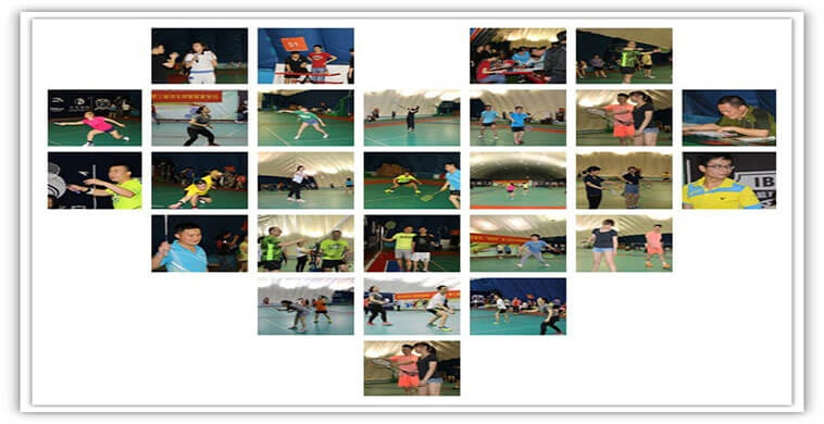 The Third LVGEM Cup Badminton Tournament was held successfully